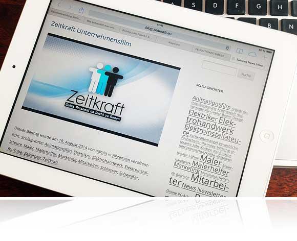 Der neue Zeitkraft News-Bereich im Blog-Stil