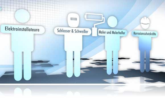 Gewerbliche Fachkräfte von zeitkraft. Im alten wie im neuen Jahr. Mobil, qualifiziert und bundesweit verfügbar.